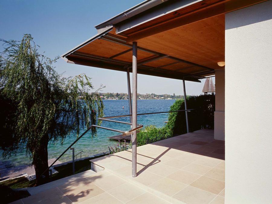 ernst steiner architektur wochenendhaus neufeldersee. Black Bedroom Furniture Sets. Home Design Ideas